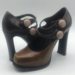 Louis Vuitton Platform Heels Mary Jane Fetish